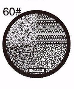 Nails - NAIL ART IMAGE STAMPING PLATE (OM-SERIES) for sale in Virginia (ID:219248091)