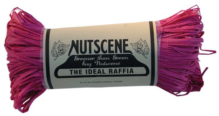 Hot Pink Raffia from www.nutscene.com