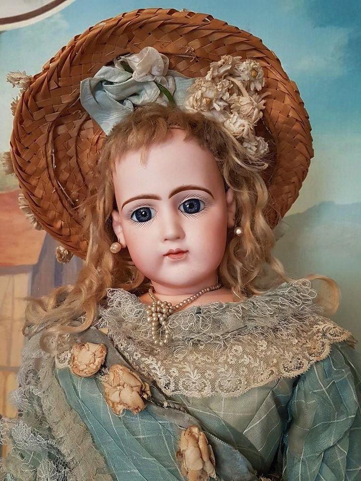 Старинные куклы типа жюмо картинки пинтерест