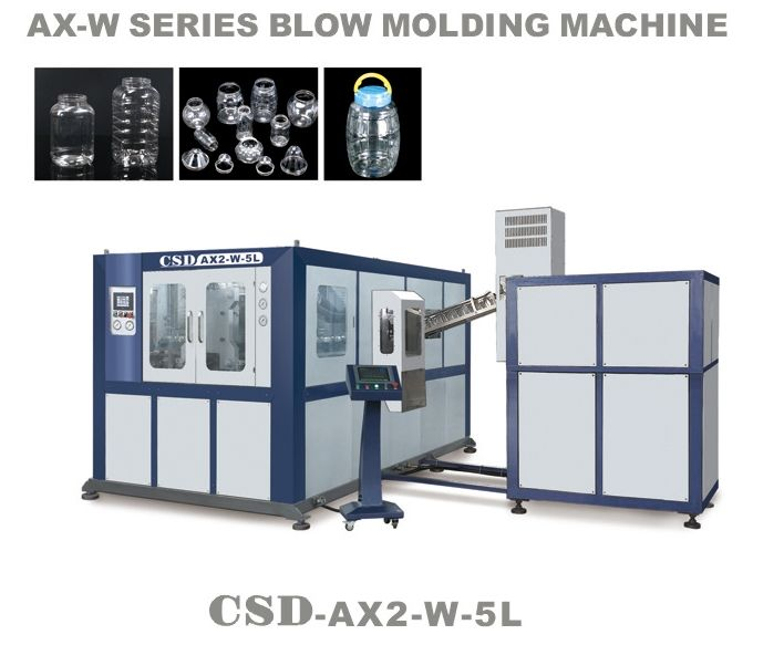 Automatic Pet Blow Molding Machine AX Series (CSD-AX2-W-5L)