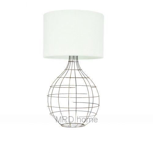 wire lamp base w   bespoke shade