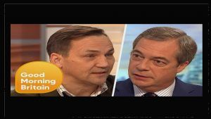 #BREXIT..THE #POLITICS OF #LEAVING .... #Trade #Debate, Brexit is the word #Good #morning #Britain has #Nigel #farage #MEP and #Radek #Sikorski