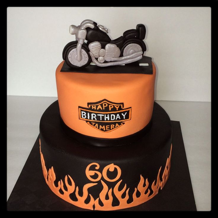 Image result for how to make a harley davidson cake