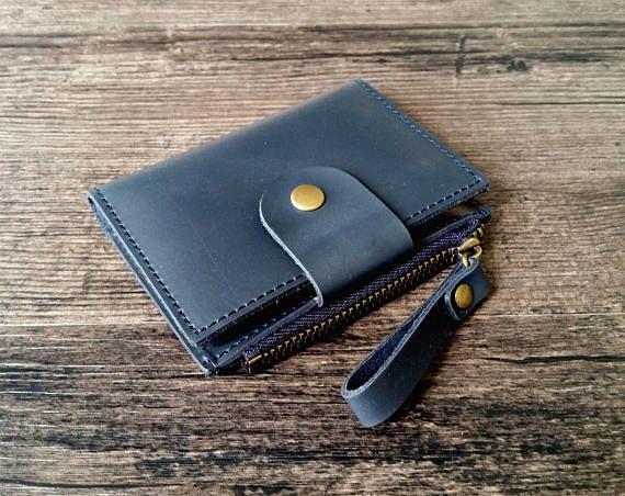 Mens leather key case mens key wallet leather key holder