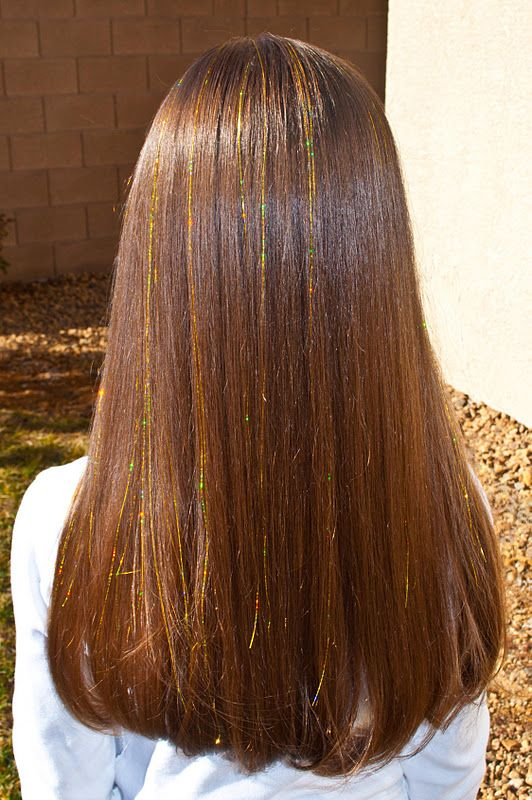 I got hair tinsel all the time when I was younger, might be fun to do it some time.