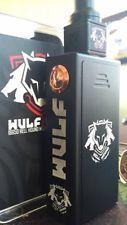 Authentic Wulf Mods 150w HELL HOUND Box Mod Vape & RDA Kit (MSRP $350)