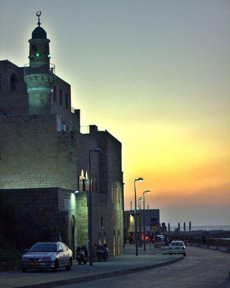 Just before Jaffa Port,December 2015