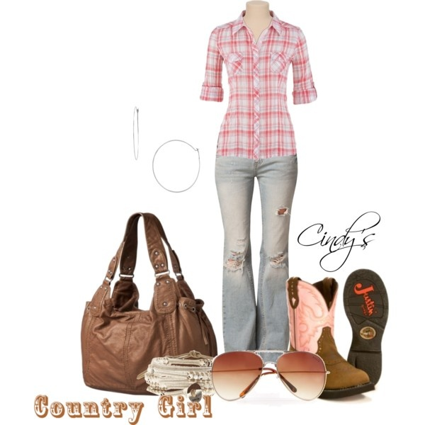 OutfitCountry Outfit, Clothing, Country Style, Country Girls, Plaid Shirts, Country Life, Girls Style, Country Side, Dreams Closets