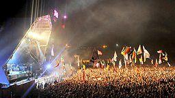 BBC - Glastonbury, 2015, Dalai Lama - 80th birthday speech at Glastonbury 2015