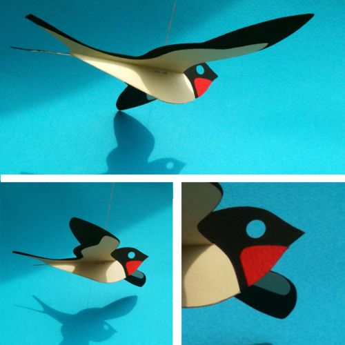 Paper Swallow. Put a bird on it.