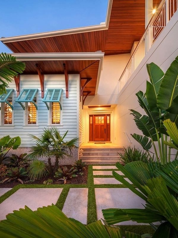 Bahama Style Interior Design | bahama shutters ideas tropical exterior modern house landscape ideas ...