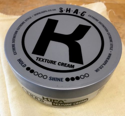 Kipa  SHAG Texture Cream 100ml-Professional Hold & define -with Beeswax Health & Beauty:Hair Care & Styling:Styling Products #forcharity