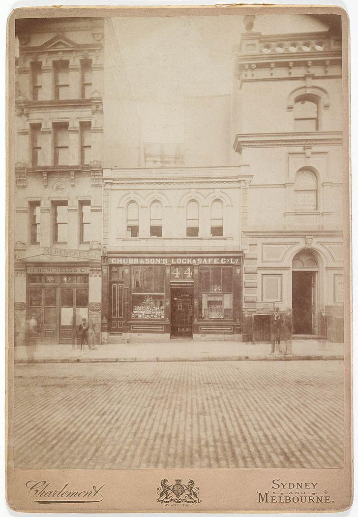 Market Street, Sydney 1890s