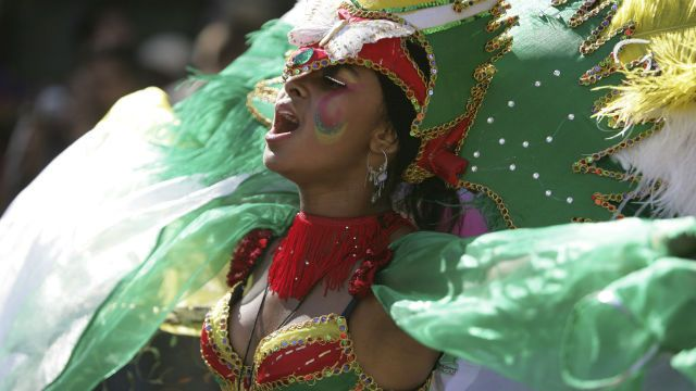 Notting Hill, London - what to do, what to see (pictured: Notting Hill Carnival dancer in costume)