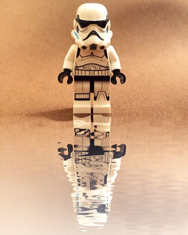 Lego Star Wars - Moody #lego #stormtrooper !