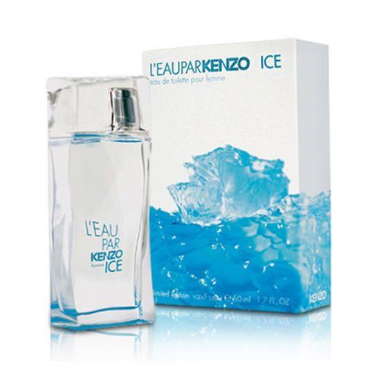 L'Eau Par Ice от Kenzo #Kenzo  Kenzo L'eau Par Ice – один из шедевров модного дома Kenzo. Прозрачный, голубоватого стекла флакон переливается игрой бликов света и создает иллюзию глыбы гладкого, словно кем-то обработанного льда. Прекрасный цветок лотоса украшает собой упаковку парфю