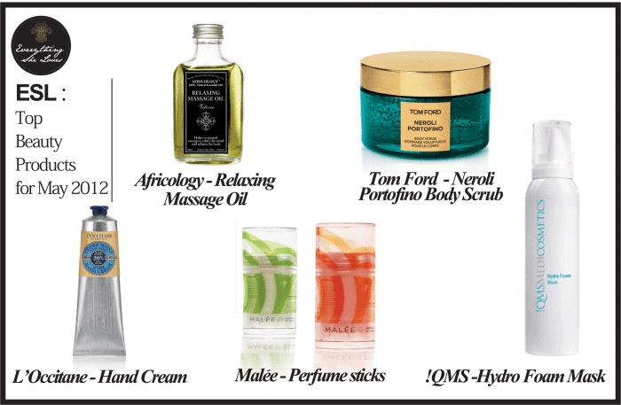 ESL - Top Beauty Products for May 2012 - neofundi