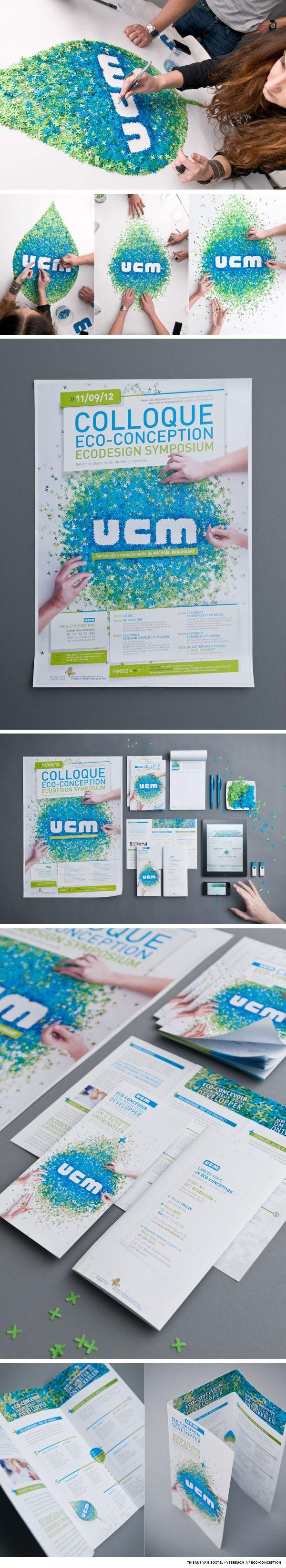 Via Behance  Thibaut van Boxtel - Vébé→UCM /// Eco-conception