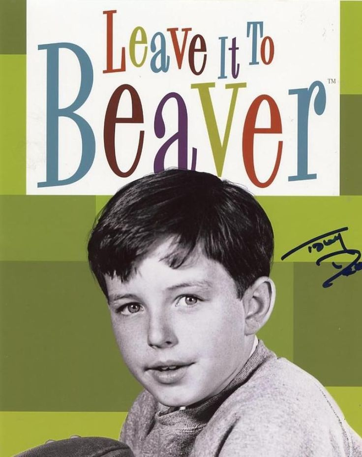 Leave It To Beaver TV show Signed by Tony Dow