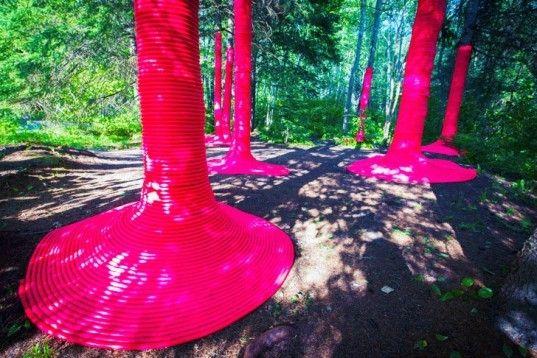garden, design, Quebec, festival, international, competition, ecological, conceptual, enchanting, bizarre