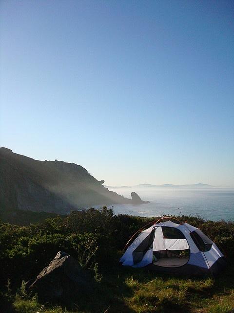 Steep Ravine Campground, Mill Valley, California