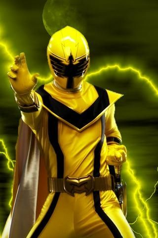 Yellow Mystic Force Ranger