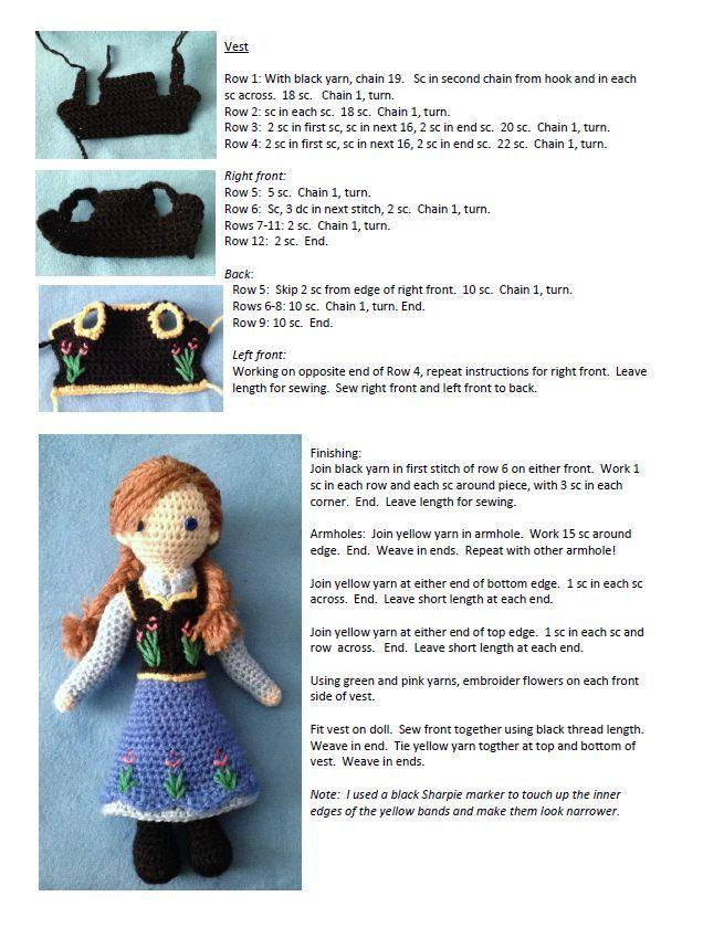 Perfecto Muñecas Libres De Tejer Patrones Para Descargar Reino Unido ...
