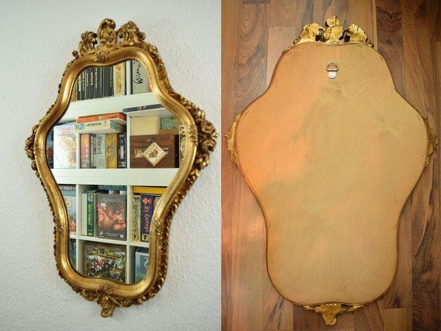 Vintage Spiegel / Wandspiegel / Flurspiegel | Barock | Germany Von  ShabbRockRepublic Auf Etsy