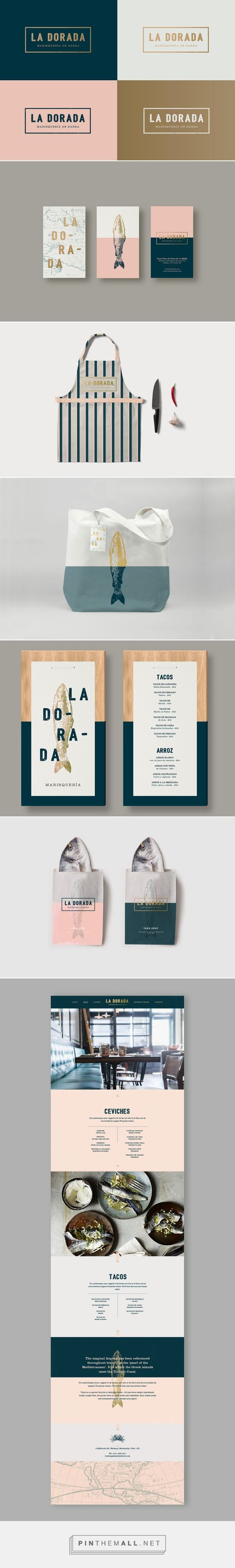 La Dorada packaging branding on Behance curated by Packaging Diva PD.