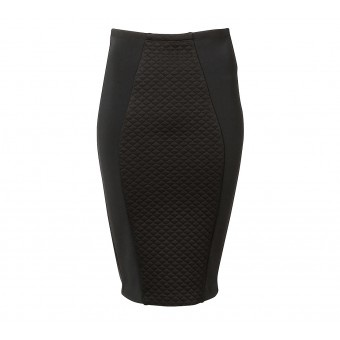 Witchery Quilted Panel Skirt