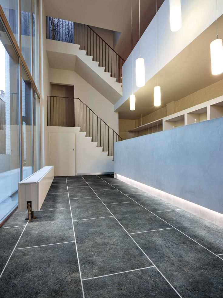 Jura Stone 46975 - Stone Effect Luxury Vinyl Flooring - Moduleo