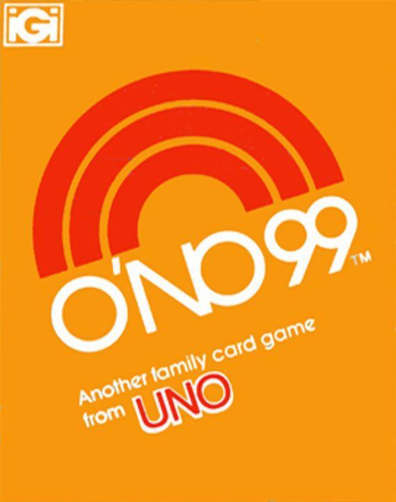 1980 O'no 99 card game IGI 161008-514 by DarwinsGameCloset on Etsy
