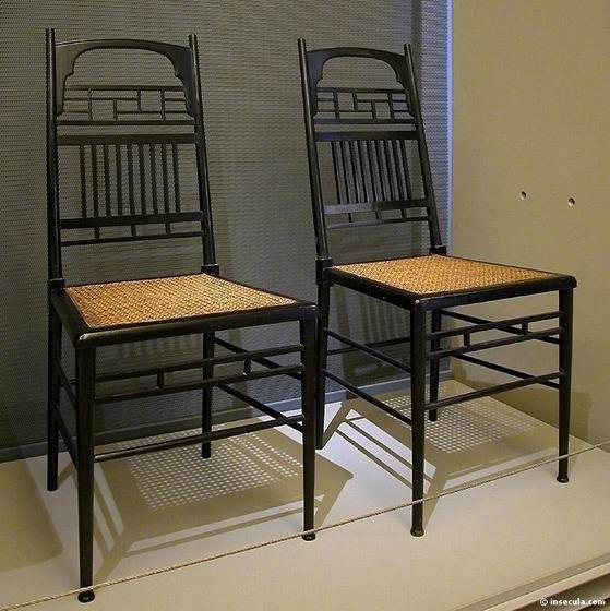 Edward William Godwin - Paires de chaises