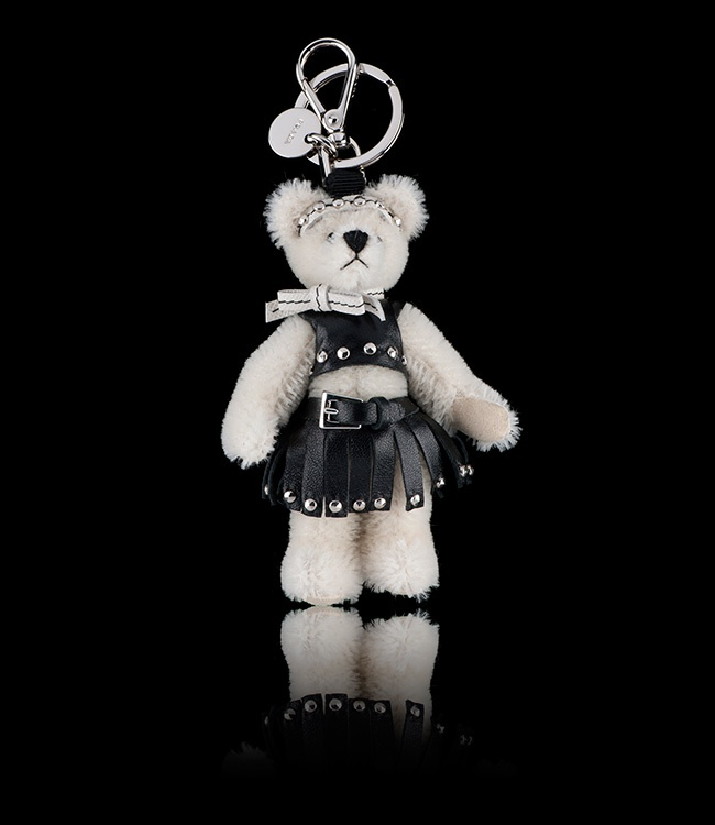 Large Teddy Bear Keyring | Handbag Charms - Keyrings - Something ...