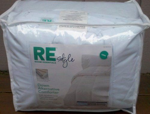 alternative down comforter king by room essentials alternative down comforter king
