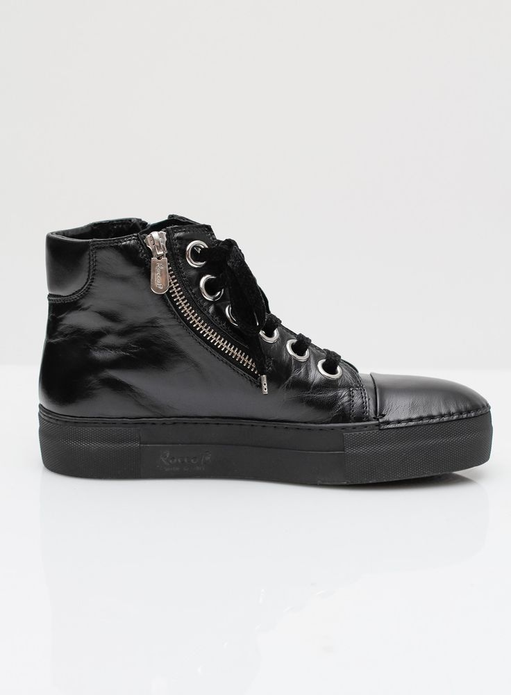 Rocco P. | Sandoz Black Sneaker