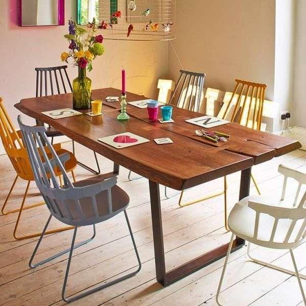 Risultati immagini per tavolo quadrato legno cucina