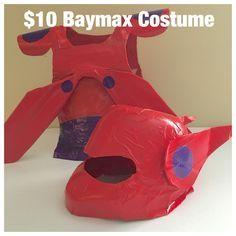 DIY $10 Baymax Costume | TangleBug.com Big Hero 6, Disney Inspired Costume