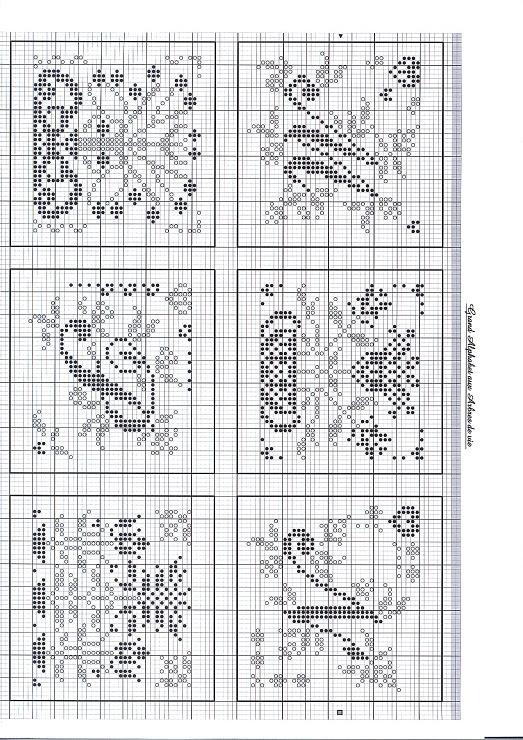 Gallery.ru / Фото #3 - 50531 - stepaniya13 M monogram cross stitch