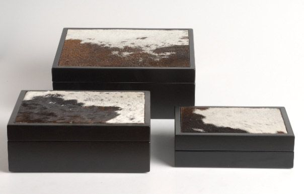 Nguni skin box | Giftware | ASHANTI