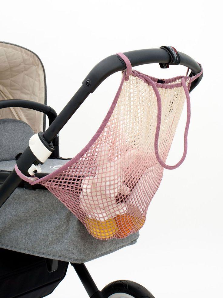 Kinderwagen Netz Little Thunder Mit Farbverlauf In Altrosa Kinderwagen Kinderwagennetz Netz Shopper
