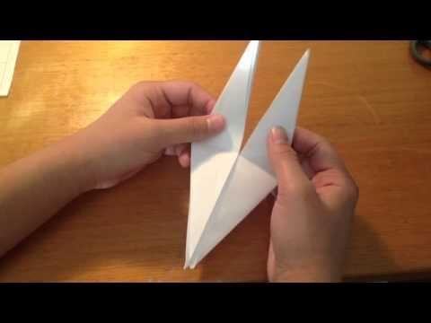 Faire une grue en origami - Réaliser une grue en papier: Astuce grue ori...