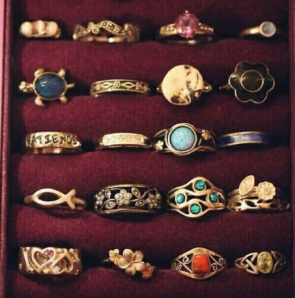 These rings are the must have ones!!!