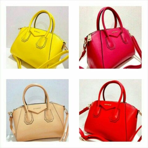 ready givenchy antigona medium semipremi  28x16x22 / red-fanta-yellow-cream