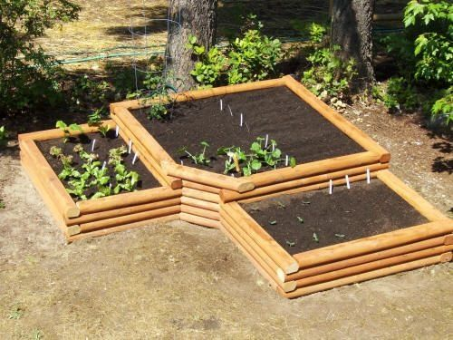 48 best SFG Creative Planting Ideas images on Pinterest - raised bed garden designs