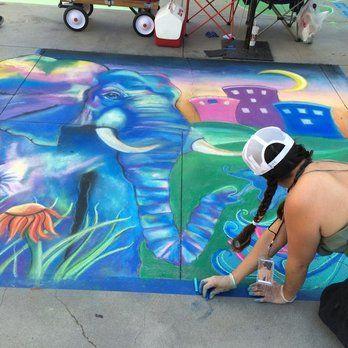 Pasadena Chalk Festival - Pasadena, CA,