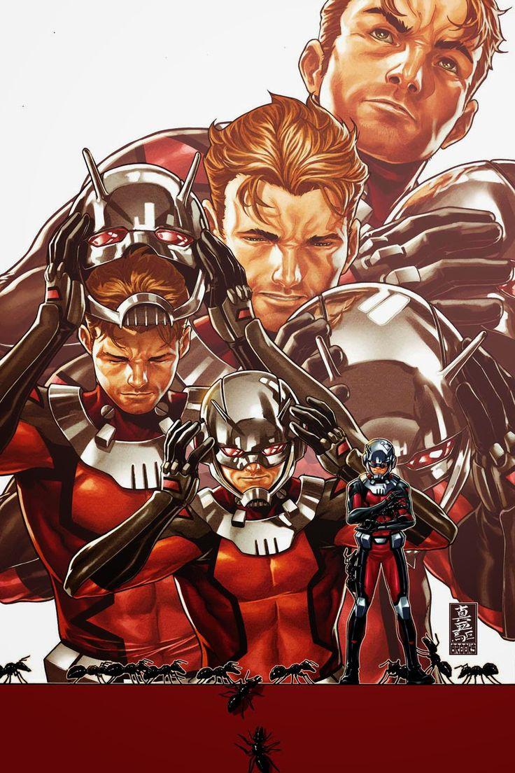 Marvel lança revista do Homem-Formiga