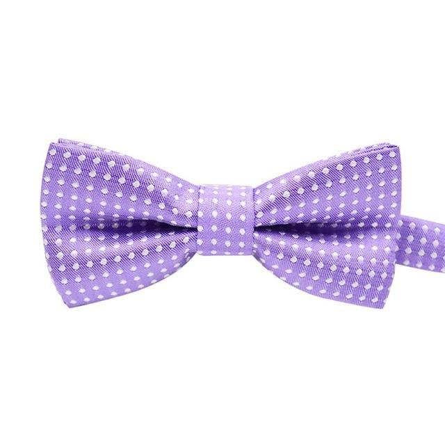 Formal Dog Bow Tie In PURPLE