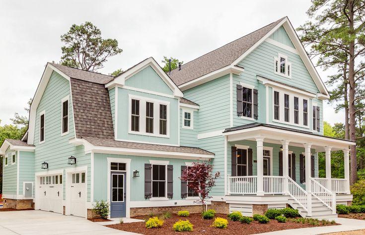 Plan 30082rt Modern Farmhouse With L Shaped Porch