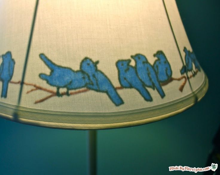 How To Make An Illustrated Lampshade